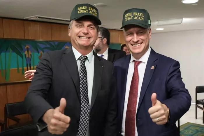 Capacho, Bolsonaro põe o Brasil na da guerra comercial entre EUA e China
