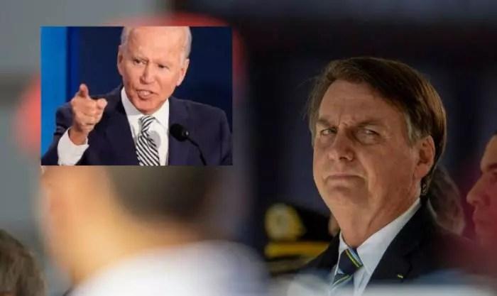 Técnicos de Biden não acreditam nos esforços do gov. Bolsonaro, na Amazônia.