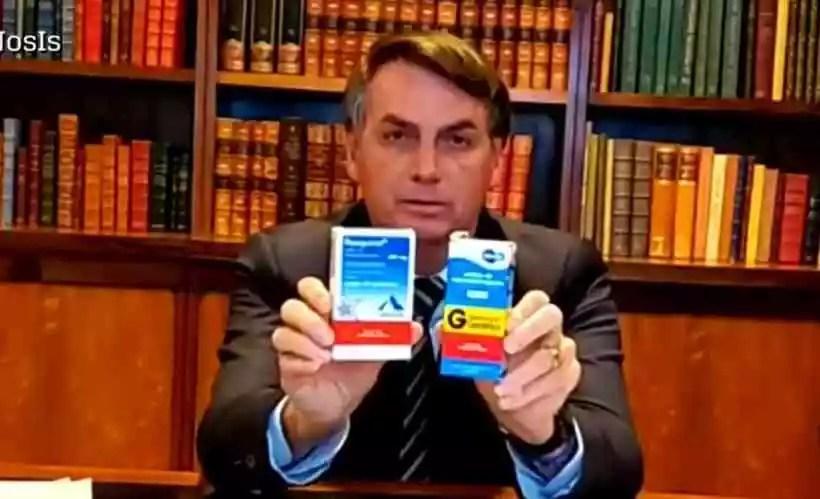 CFM pede que Ministério da Saúde remova o aplicativo que sugere uso de cloroquina contra Covid-19.