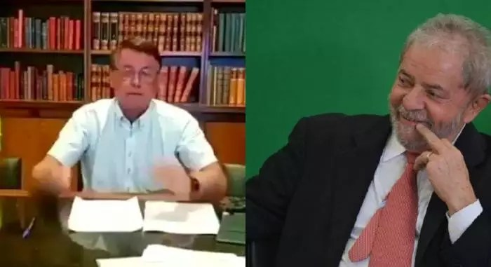 """VÍDEO: Bolsonaro sobre possível absolvição de Lula: """"Quem nunca sofreu uma acusação injusta?"""""""