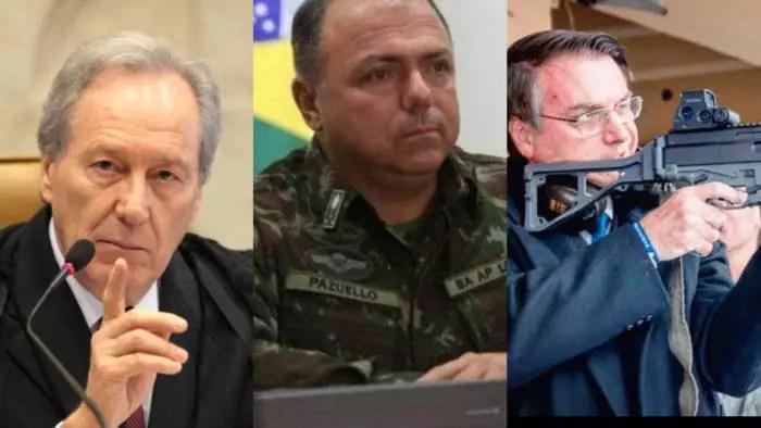 Após Pazuello mentir, STF intima governadores a informar o estoque de seringas.