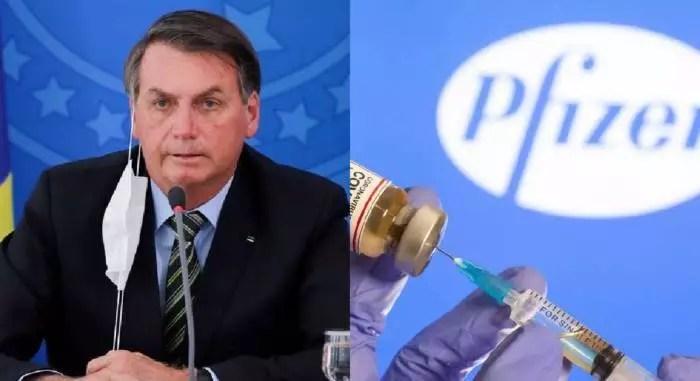 Ministério da Saúde reconhece ter recusado oferta de vacina da Pfizer.