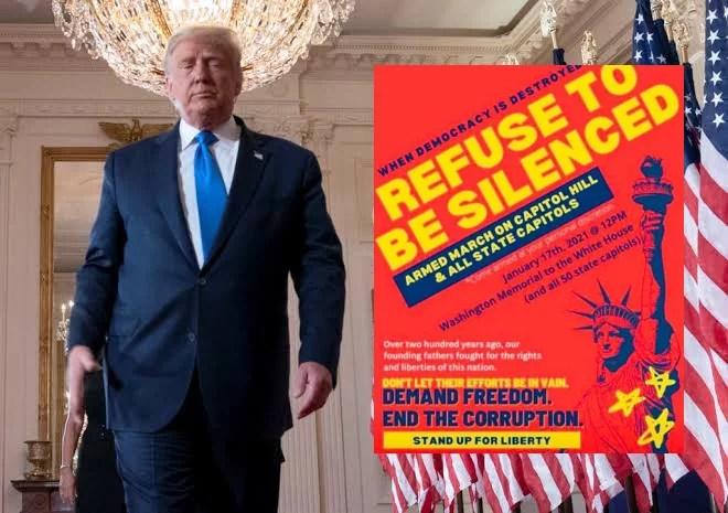 """Republicanos e militares planejaram invasão ao Capitólio e revela """"ato terrorista"""" no dia 17, diz Michael Moore."""
