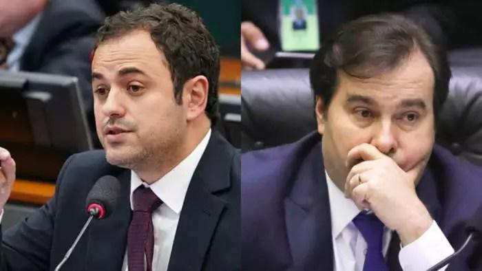 Glauber Braga a Rodrigo Maia: vai abrir o impeachment?