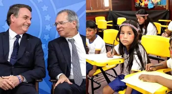 Bolsonaro vai ao STF para que alunos e professores de escola pública não tenham Internet garantida, na pandemia.
