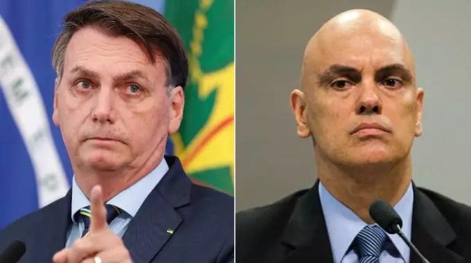 """Bolsonaro diz que não vai """"aceitar passivamente"""" decisões do STF"""