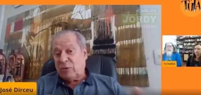 """Extrema-direita distorce vídeo de Dirceu por frase mal formulada sobre """"facada"""""""