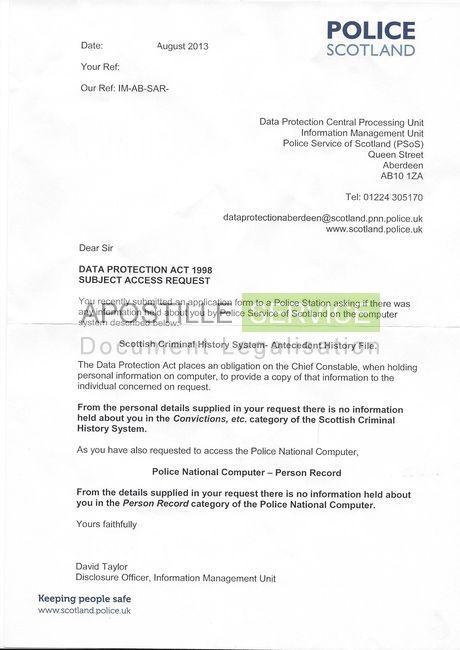 Apostille for Police Letters