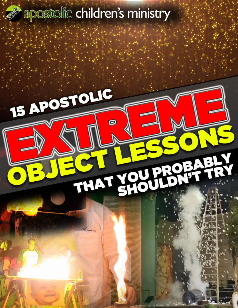 Object Lesson Book – Extreme Lessons