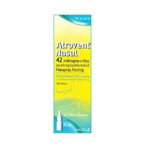Atrovent Nasal 42 microgram-dos nasspray
