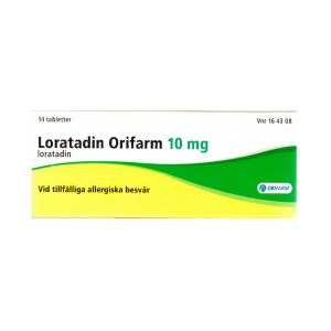 Loratadin Orifarm 10 mg 14 tabletter