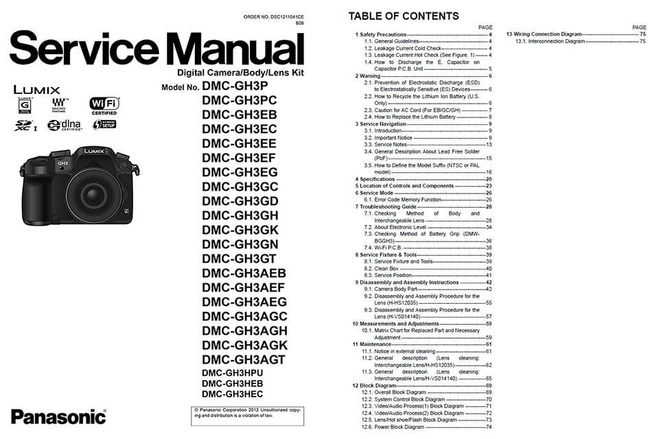 Panasonic Lx3 User Manual Download Pdf : Doc Photographer