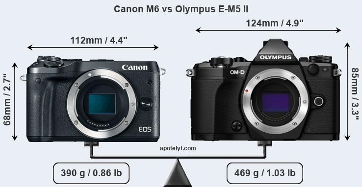 Canon M6 vs Olympus E-M5 II Comparison Review