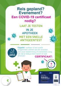 Covid-19 certificaat
