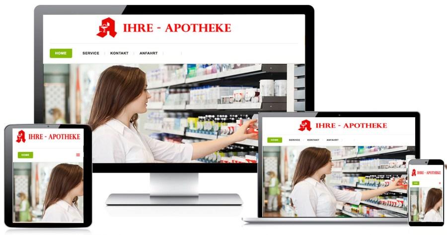 Apothekenwebsite nach Maß