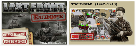 In last Front Europe können Sie verschiedene Weltkriegsschlachten nachspielen