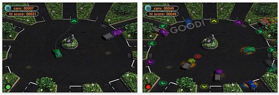 Screenhot Finbger Traffic Navigator für iPhone und iPod Touch