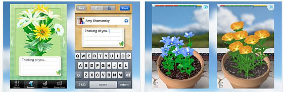 Screenshot Flower Garden App für iPhone und iPod Touch