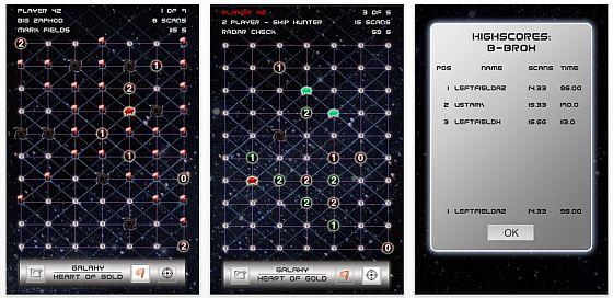 Screenshot Galaxis Heart of Gold iPhone app
