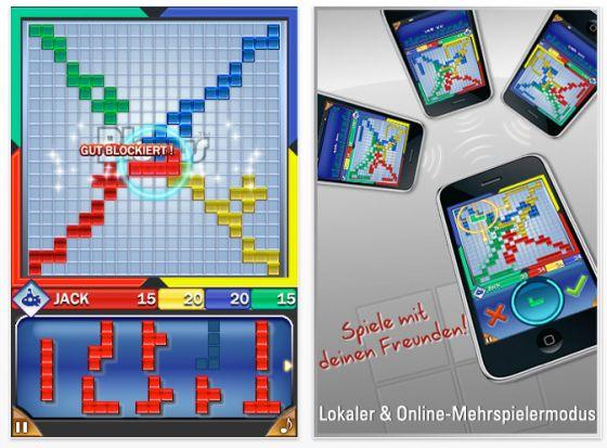 iPhone App Blokus Screenshot