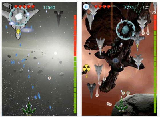 Screenshot iPhone App Phasers