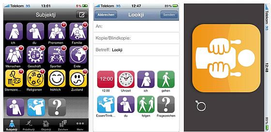 Screenshot lookji iPhone App