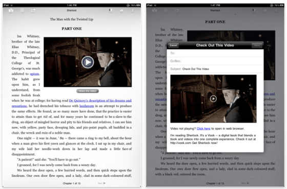 The Sherlock Homes Experience iPad Edition Screenshot