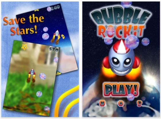 Screenshot Bubble Rockit