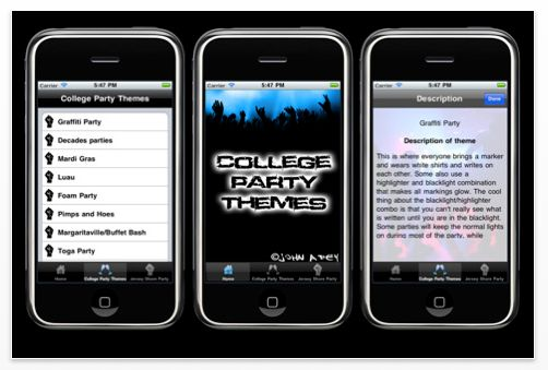Colle Party Themes Screenshot