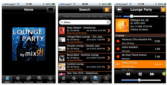 Lounge Party iPhone App Screenshot