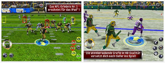 Madden NFL 11 iPad screenshots
