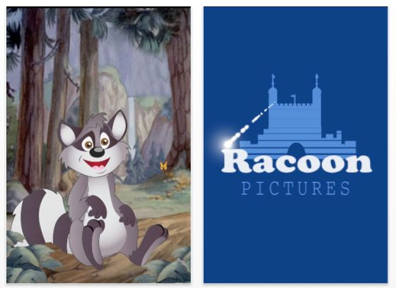 Rodger the Racoon Screen