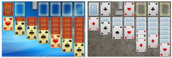 Screenshot Solitaire für iPhone und iPod Touch