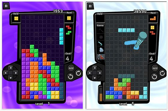 Tetris iPad Screenshot