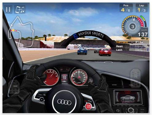 Screenshot GT Racing Rennakademie HD