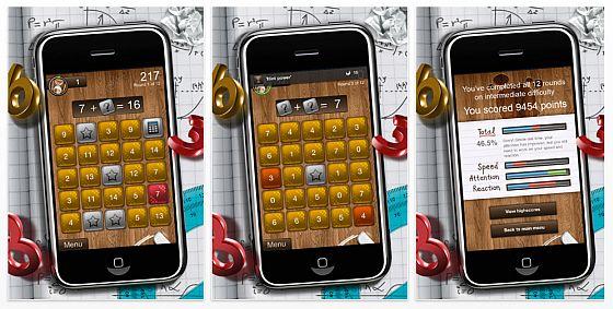 iPhone App Mathster Screenshots