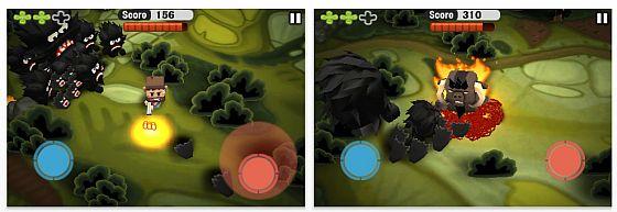 Minigore für iPhone und iPod Touch