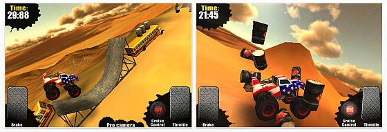 Screenshots Monster Trucks Nitro für iPhone und iPod Touch
