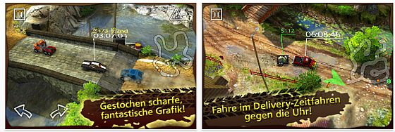 Reckless Racing für iPhone und iPod Touch Screenshot