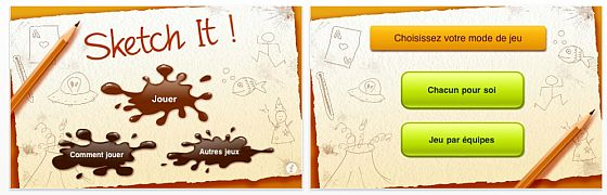 iPhone App Sketch it! Screenbshot