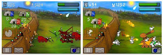 Screenshot Universal-App Stick Wars