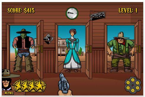 Westbang Iphone und iPod Touch Spiel Screenshot