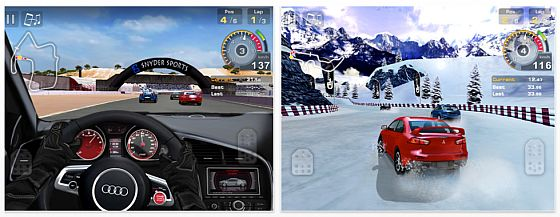GT Racing Rennakademie für das iPad