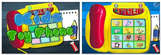 Kids Toy Phone Universal-App für iPad iPhone und iPod Touch Screenshot