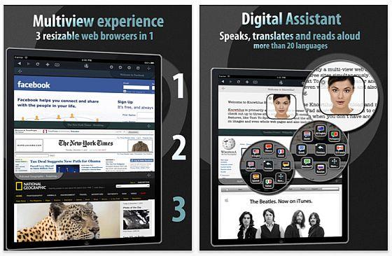 Knowtilus Navigator für das iPad Screenshot