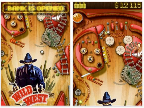 Wild West Pinball Screenshot