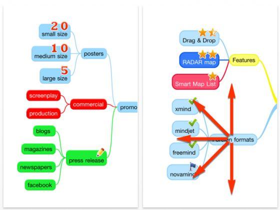 myMind App für iPhone und iPod Touch Screenshots