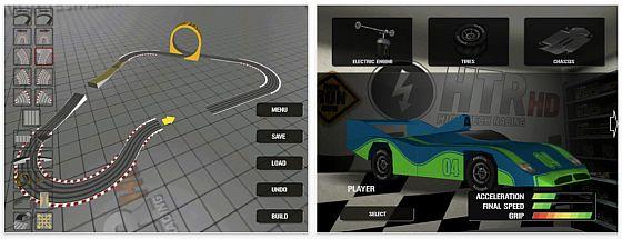 High Tech Racing - Slotcar auf iPhone, iPod Touch und iPad Screenshots