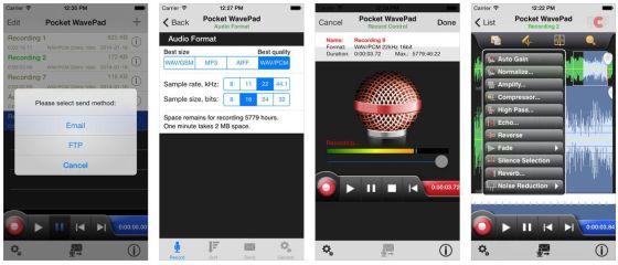 Mit der kostenlosen VersionWavePad Audio Editor Free kann man schon einiges machen - wer mehr Funktionen braucht, sollte besser gleich die Master Edition kaufen.