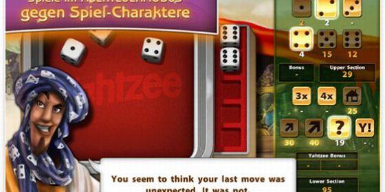 Yahtzee HD für iPad Screenshot